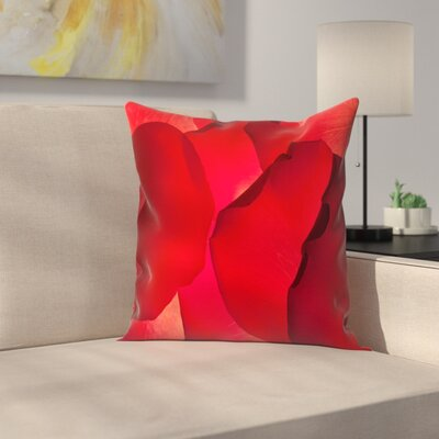 Maja Hrnjak Petals Throw Pillow Size: 20 x 20