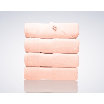 Lint Free Turkish Shower Bath Towel Color: Pink