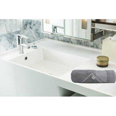 Lint Free Turkish Washcloth Color: Gray