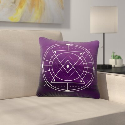 Matt Eklund Mystic City Digital Outdoor Throw Pillow Size: 16 H x 16 W x 5 D