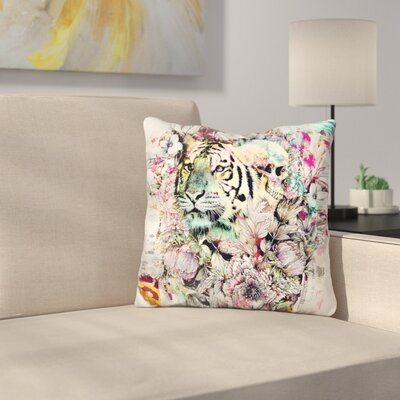 Interpretation of A Dream Tiger Throw Pillow