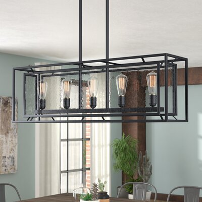 Cosette 5-Light Kitchen Island Pendant Bulb Type: MB ST64