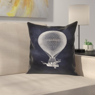 Atlantic Balloon Throw Pillow Size: 16 x 16