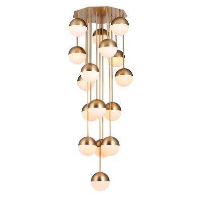 Roquemore 16-Light Cluster Pendant