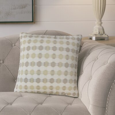 Lussier Geometric Throw Pillow Color: Mushroom