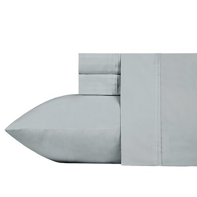Fogarty Sateen Wonder Sheet Set Size: Queen, Color: Wonder Gray