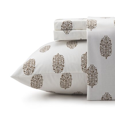 Riverina 200 Thread Count 100% Cotton Sheet Set Size: Queen