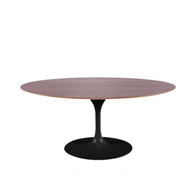 Halpern 28 Dining Table Base Color: Black