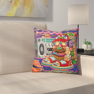 Ugly But Happy Throw Pillow