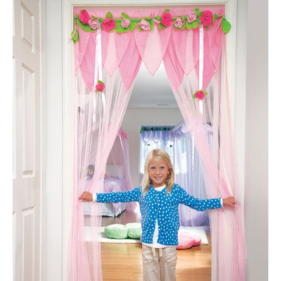 Secret Garden Make and Entrance Bed Canopy Color: Pink