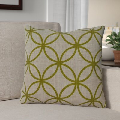 Muriel Throw Pillow Color: Kiwi
