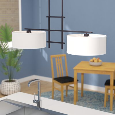 Kadin 2-Light Kitchen Island Pendant