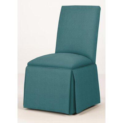 Walraven Upholstered Dining Chair Upholstery: Turquoise