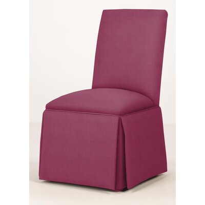 Walraven Upholstered Dining Chair Upholstery: Fuchsia