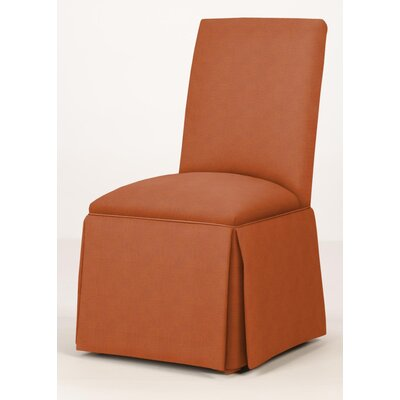 Walraven Upholstered Dining Chair Upholstery: Orange