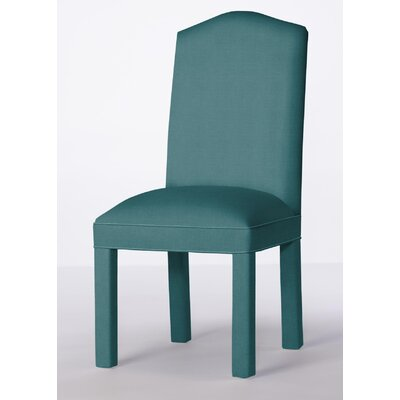Mohegan Upholstered Dining Chair Upholstery: Turquoise