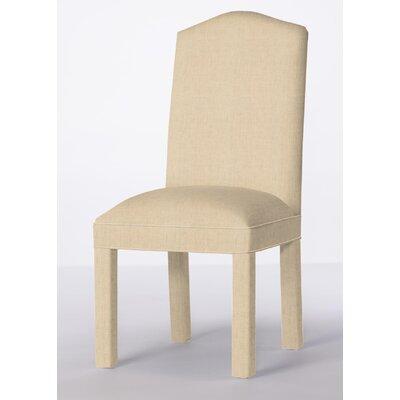 Mohegan Upholstered Dining Chair Upholstery: Linen