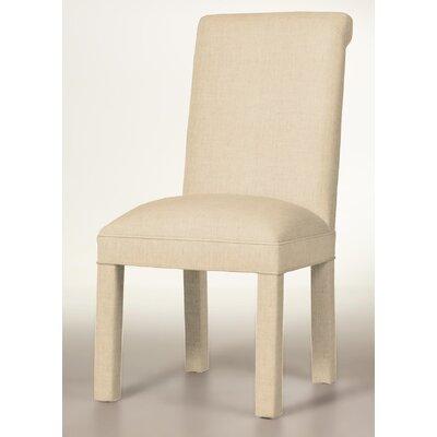 Moffatt Upholstered Dining Chair Upholstery: Linen