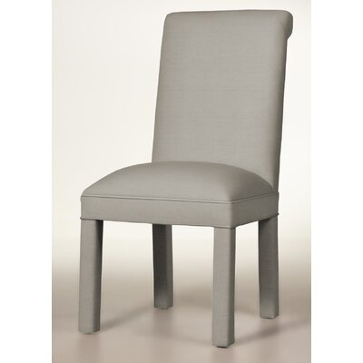 Moffatt Upholstered Dining Chair Upholstery: Pewter