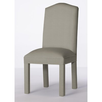 Mohegan Upholstered Dining Chair Upholstery: Pewter