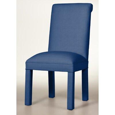 Moffatt Upholstered Dining Chair Upholstery: Sapphire