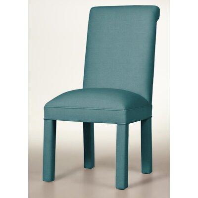 Moffatt Upholstered Dining Chair Upholstery: Turquoise