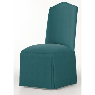 Moncalieri Upholstered Dining Chair Upholstery: Turquoise