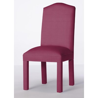 Mohegan Upholstered Dining Chair Upholstery: Fuchsia