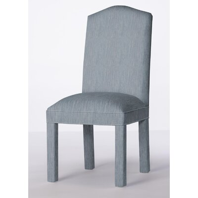 Mohegan Upholstered Dining Chair Upholstery: Denim