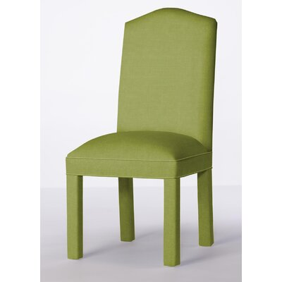 Mohegan Upholstered Dining Chair Upholstery: Lime