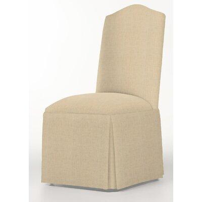 Moncalieri Upholstered Dining Chair Upholstery: Linen