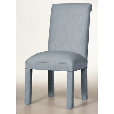 Moffatt Upholstered Dining Chair Upholstery: Denim