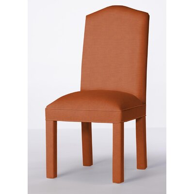 Mohegan Upholstered Dining Chair Upholstery: Orange
