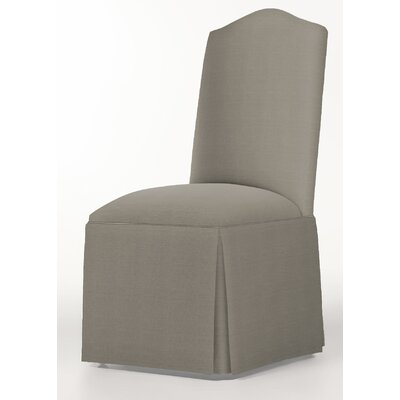 Moncalieri Upholstered Dining Chair Upholstery: Pewter