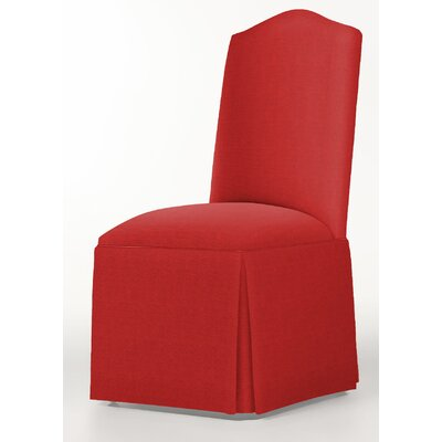 Moncalieri Upholstered Dining Chair Upholstery: Red