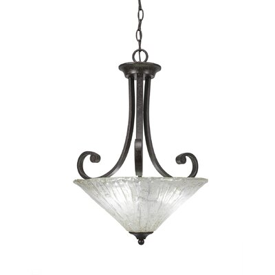 Babin 3-Light Inverted Pendant