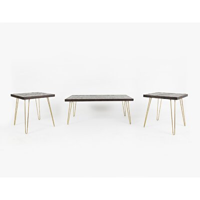 Escalante 3 Piece Coffee Table Set