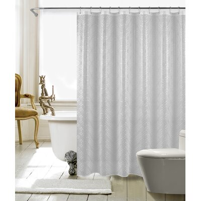 Mcroy 3D Circle PEVA Vinyl Shower Curtain