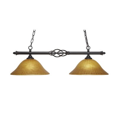 Elegant� 2-Light Kitchen Island Pendant