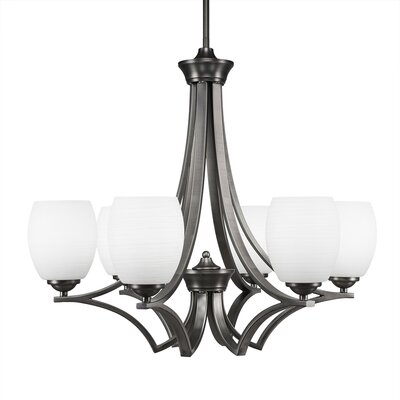 Zilo 6-Light Shaded Chandelier