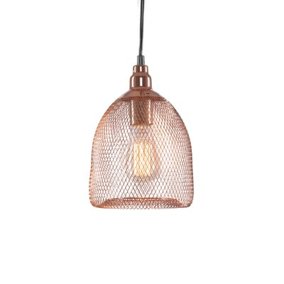 Plexus 1-Light Mini Pendant Finish: Copper