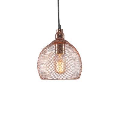 Plexus 1-Light Mini Pendant Finish: Copper