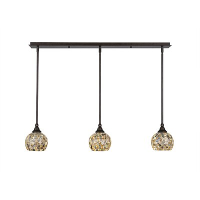Any 3-Light Kitchen Island Pendant Finish: Brush Nickel
