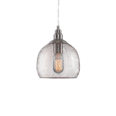 Plexus 1-Light Mini Pendant Finish: Brushed Nickel