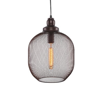 Plexus 1-Light Mini Pendant Finish: Bronze