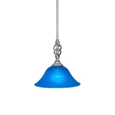 Elegante 1-Light Mini Pendant Size: 10.25 H x 10 W x 10 D