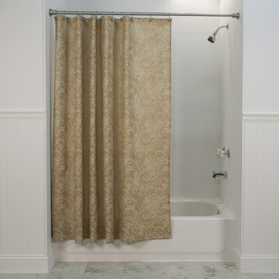 Heitman Shower Curtain Color: Natural