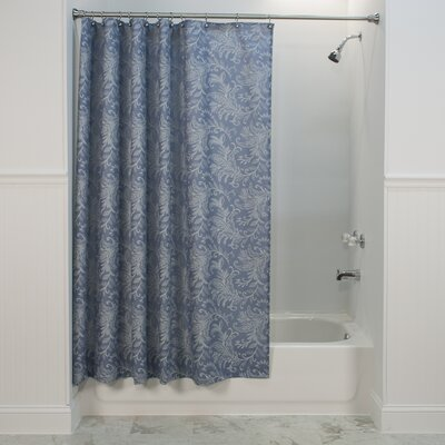 Heitman Shower Curtain Color: Blue