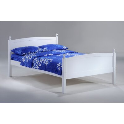 Duppstadt Sapper Full Bed Frame Color: White