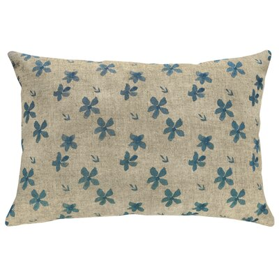 Finkbeiner Small Flowers Linen Throw Pillow